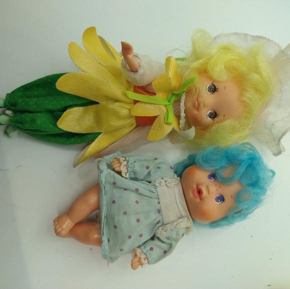 Sunny Sunflower Rose Petal Place Doll.. 1980's